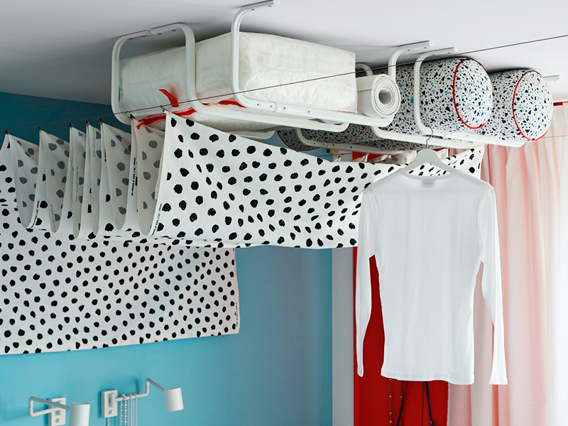 Ideas originales de almacenaje para un dormitorio juvenil