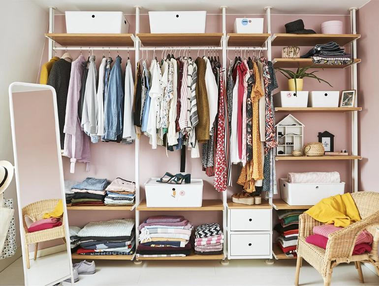 Cómo ordenar el armario y conseguir más espacio