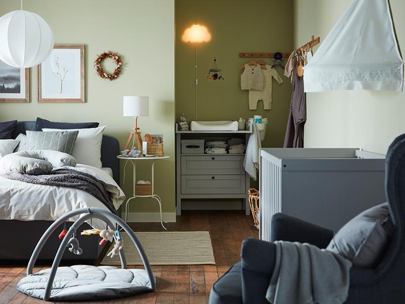 Un dormitorio para ti y para tu bebé