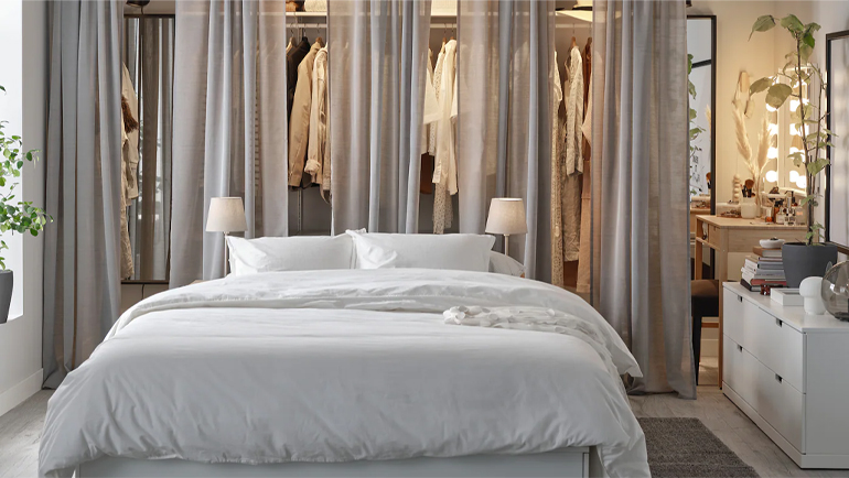 Storage solutions for your bedroom